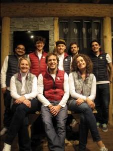L'équipe d'hiver 2014-15 des Etoiles du Sport à la Plagne Montalbert